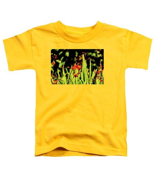 Crocosmia Toddler T-Shirt