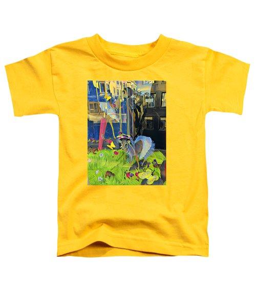 Deer In Headlights Toddler T-Shirt