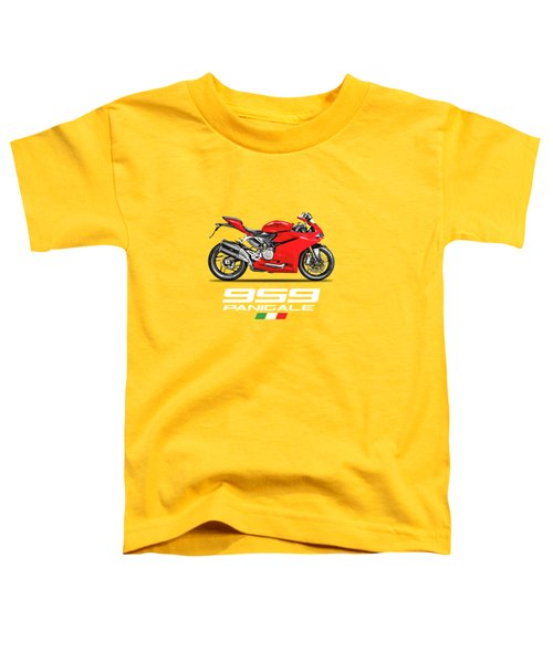Ducati Panigale 959 Toddler T-Shirt by Mark Rogan