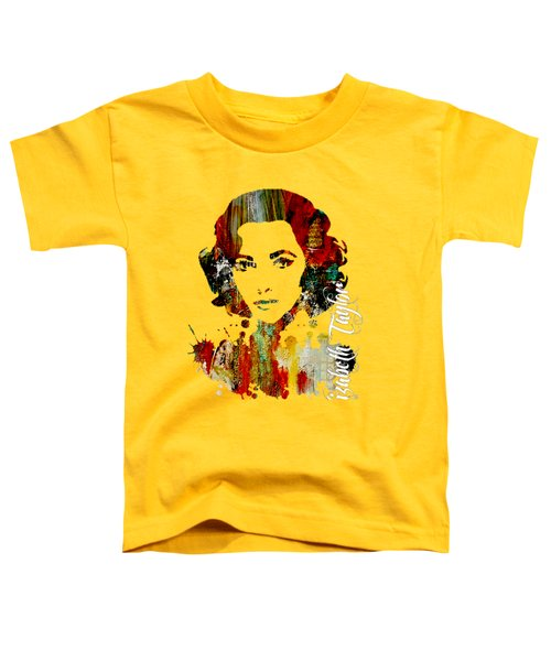 Elizabeth Taylor Collection Toddler T-Shirt by Marvin Blaine