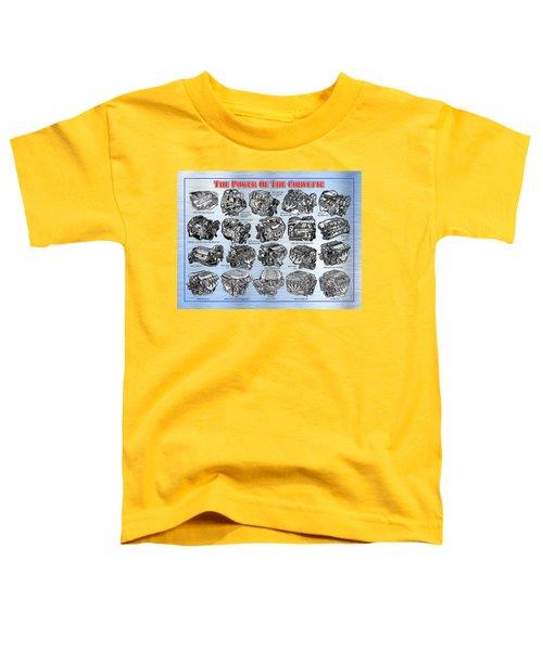 Eng-19_corvette-engines Toddler T-Shirt