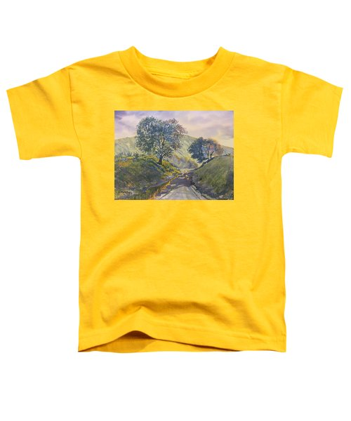 Evening Stroll In Millington Dale Toddler T-Shirt