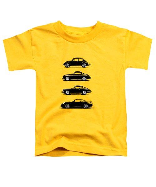 Evolution Toddler T-Shirt by Mark Rogan