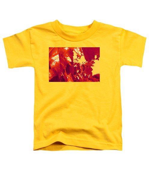 Fall Leaves #13 Toddler T-Shirt