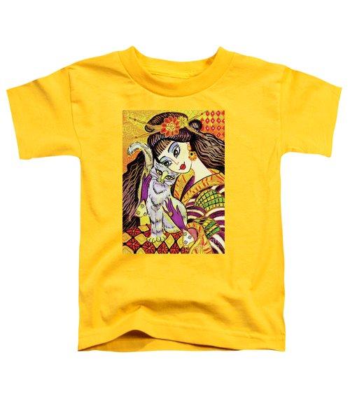 Feline Rhapsody Toddler T-Shirt