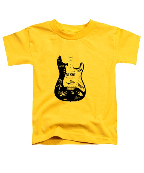 Fender Stratocaster 54 Toddler T-Shirt