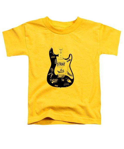 Fender Stratocaster 54 Toddler T-Shirt
