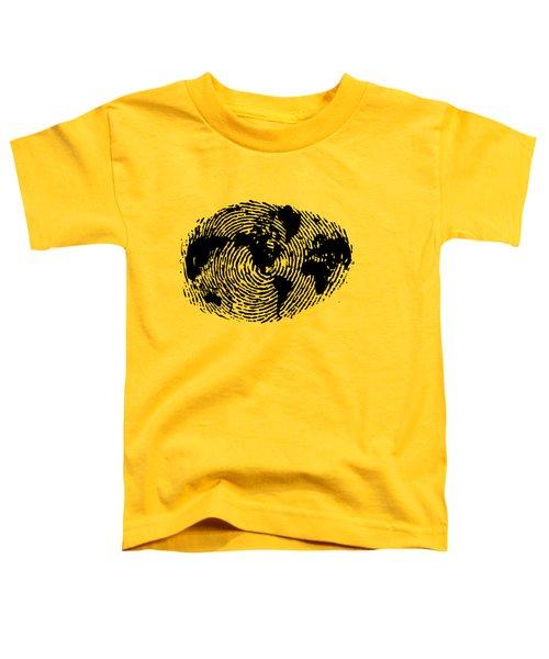 fingerprint 20X30 Toddler T-Shirt