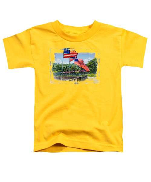 Flag Walk Toddler T-Shirt