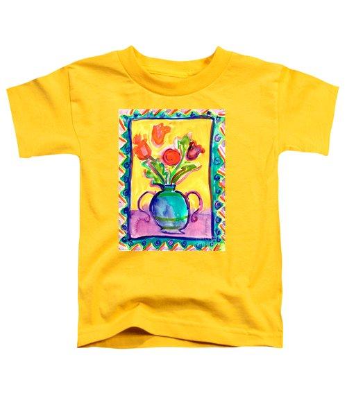 Flower Vase Toddler T-Shirt