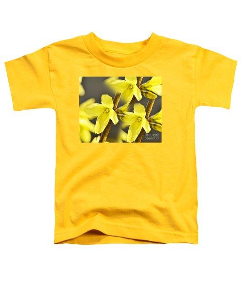 Forsythia Three Toddler T-Shirt