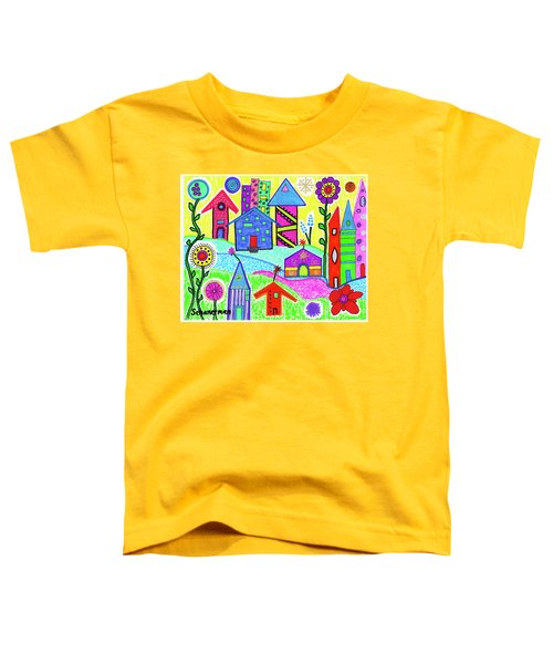 Funky Town 3 Toddler T-Shirt