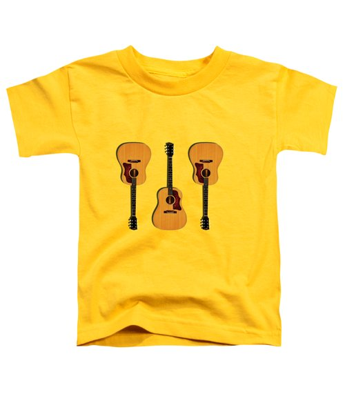 Gibson J-50 1967 Toddler T-Shirt by Mark Rogan