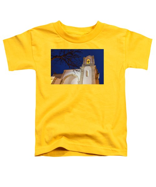 Gloriously Lit Blue Hour - Igreja De Santo Antonio In Lagos Portugal Toddler T-Shirt