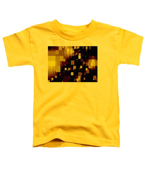 Golden Light And Dark  Toddler T-Shirt