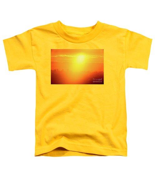 Golden Light Toddler T-Shirt by Tatsuya Atarashi