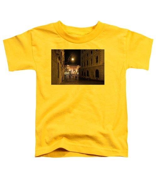 Golden Midnight - Night Walk In Rome Italy Toddler T-Shirt