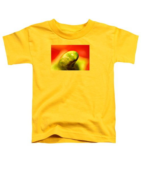 Green Red Liquid Clay Toddler T-Shirt