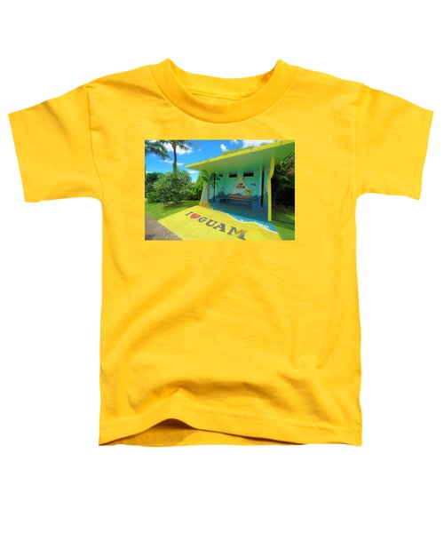 Guam Bus Stop Toddler T-Shirt