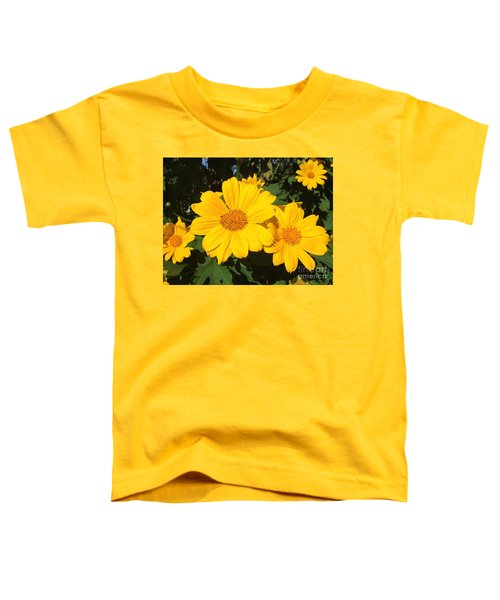 Happy Yellow Toddler T-Shirt