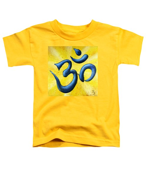 Hindu Om Symbol Art Toddler T-Shirt