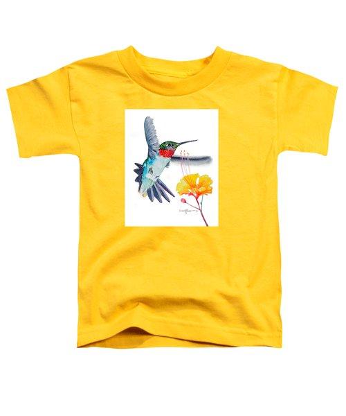 Da169 Hummingbird Flittering Daniel Adams Toddler T-Shirt