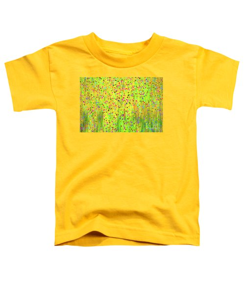 Impressionist Meadow Toddler T-Shirt by Silvia Ganora