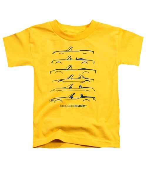 Italian Roadster Silhouettehistory Toddler T-Shirt