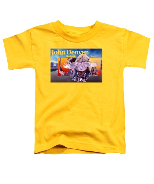 John Denver Shirt Toddler T-Shirt