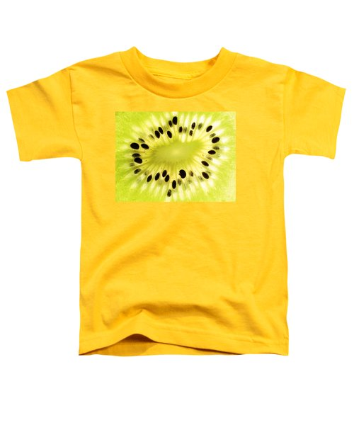 Kiwi Fruit Toddler T-Shirt by Paul Ge