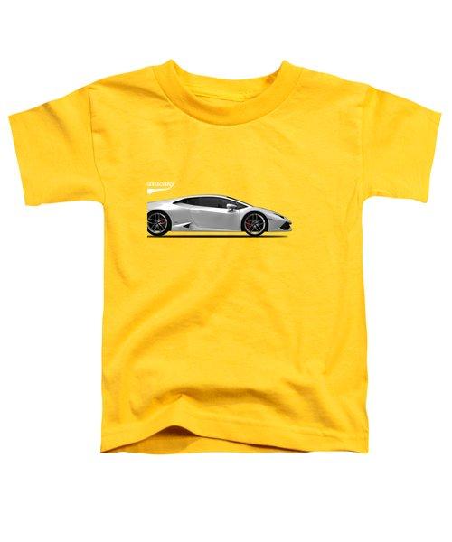 Lamborghini Huracan Toddler T-Shirt by Mark Rogan