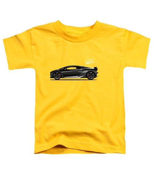 Lamborghini Sesto Elemento Toddler T-Shirt by Mark Rogan
