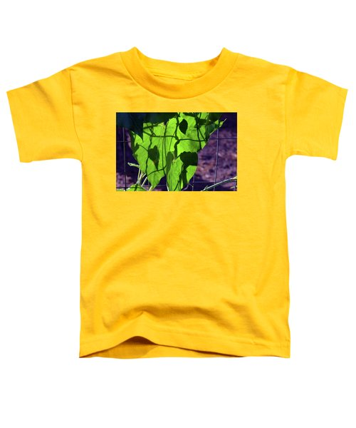 Leaf Shadows Toddler T-Shirt