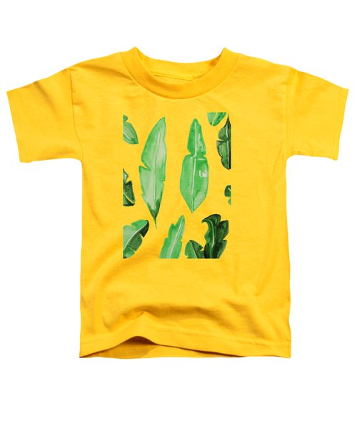 Leaves Toddler T-Shirt by Cortney Herron
