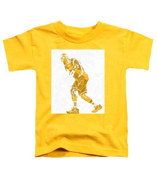 Lebron James Cleveland Cavaliers Pixel Art 13 Toddler T-Shirt