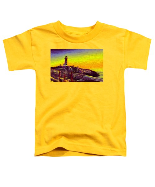 Lighthouse Sunset Toddler T-Shirt