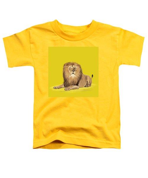 Lion Painting Toddler T-Shirt