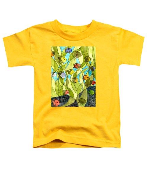 Little Fish Big Pond Toddler T-Shirt