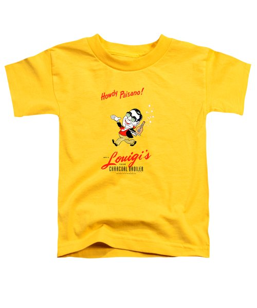 Louigis Las Vegas 1960 Toddler T-Shirt