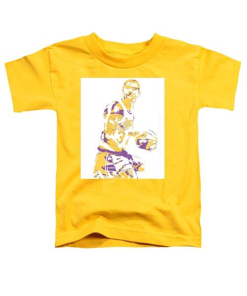 Magic Johnson Los Angeles Lakers Pixel Art 6 Toddler T-Shirt