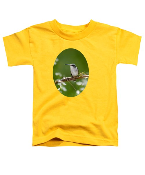 Meadow Hummingbird Toddler T-Shirt by Christina Rollo
