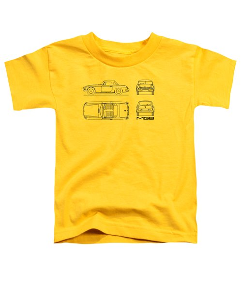 Mgb Blueprint Toddler T-Shirt