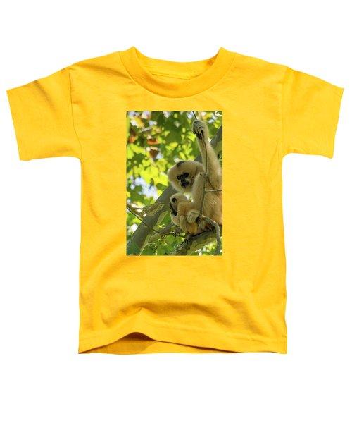 Mommy Gibbon Toddler T-Shirt