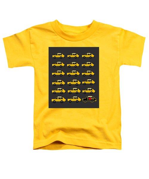 New York City Taxi Toddler T-Shirt