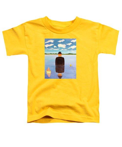 No Man Is An Island Toddler T-Shirt