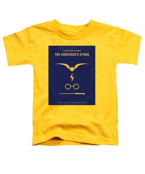 No101 My Harry Potter Minimal Movie Poster Toddler T-Shirt