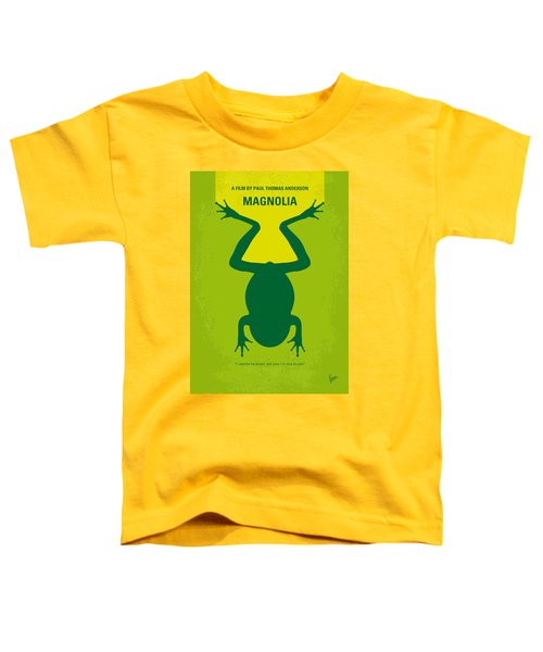 No159 My Magnolia Minimal Movie Poster Toddler T-Shirt