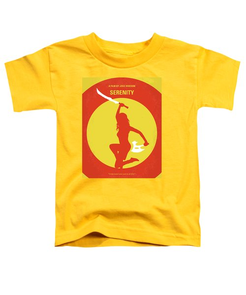 No722 My Serenity Minimal Movie Poster Toddler T-Shirt