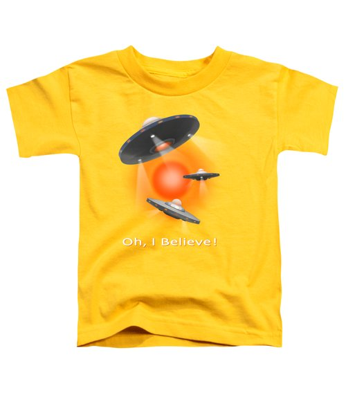 Oh I Believe  Se Toddler T-Shirt by Mike McGlothlen