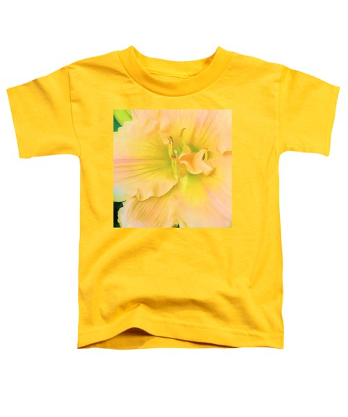 Peach Lily Toddler T-Shirt